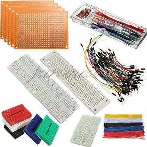 830-700-400-170-Kt-Breadboard-Steckbrett-Steckboard-Experimentierbrett-Auswahl