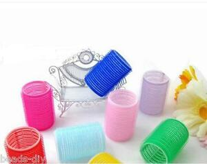 6Pcs-1Set-BD-New-Big-Self-Grip-Hair-Rollers-Cling-Any-Size-DIY-Hair-Curlers