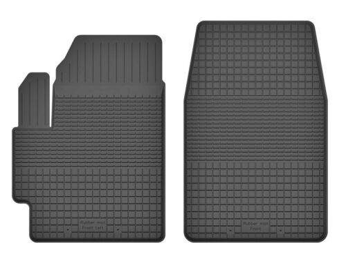 2012 vorne Fahrer-und Beifahrermatte FXa Gummimatten für Nissan Note II ab Bj