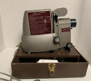 Vintage Bell and Howell Film Strip Projector Model 724G - Works - Tested
