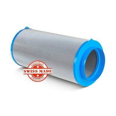 Carbonactive Granulate Filter 800m³ / 200mm Flansch Aktivkohlefilter Akf Grow