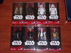 Collection Star Wars Lot 8 figurines 15 cm de Disney Hasbro 6 ''