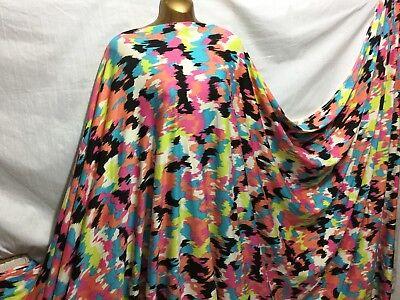 *NEW* Stretch Viscose Wide Double Knit Jersey Animal Print Dress//Craft Fabric