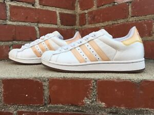 adidas superstar peach stripes