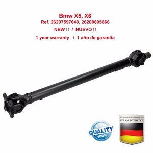 Kardanwelle-Gelenkwelle-BMW-X5-X6-E70-E71-E72-26207597649-26208605866-NEW