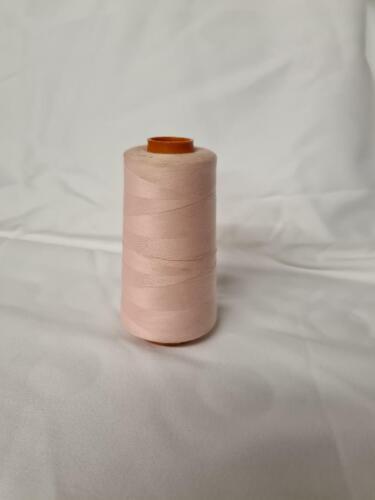 Hilo de poli algodón 3000 metros Carrete Máquina Coser Multi-propósito colorido Carrete