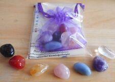 Chakra Set - 7 Healing Crystals 15mm-17mm - Chakras, Reiki Healing, Meditation