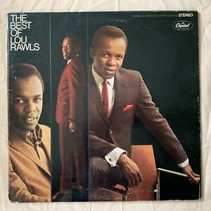 LOU RAWLS The Best Of Lou Rawls 1974 Capitol Records SKAO-2948 - VG+