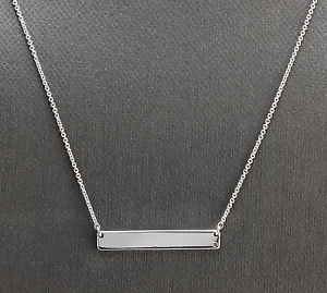 14K-Solid-White-Gold-Bar-Necklace-with-Diamond-Accent