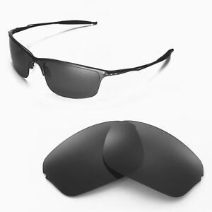 ef62e867dcf Image is loading New-Walleva-Polarized-Black-Replacement-Lenses-For-Oakley-
