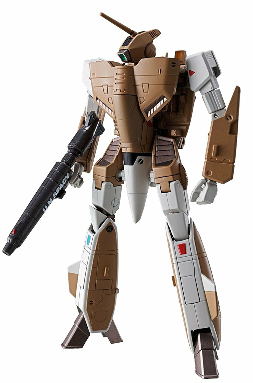 Metal De Alta R Macross VF-1A Valkyrie modelo de producción en masa BANDAI Figura De Acción Nueva