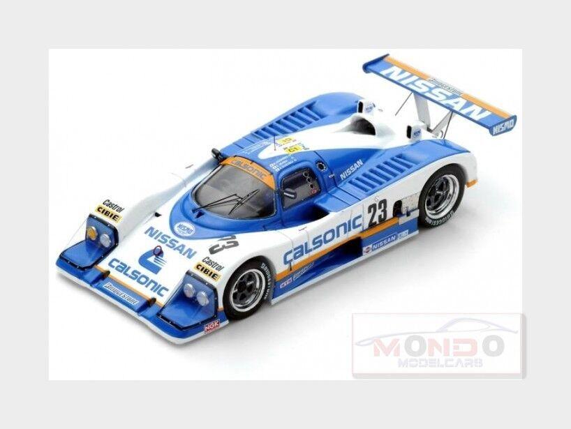 Nissan R88C 3.0L Turbo V8 Nissan Motorsport Le Mans 1988 SPARK 1 43 S5080 Mo
