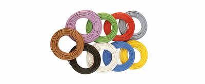 Brawa 3109 Kabel 0,14 mm² 10 Meter weiss
