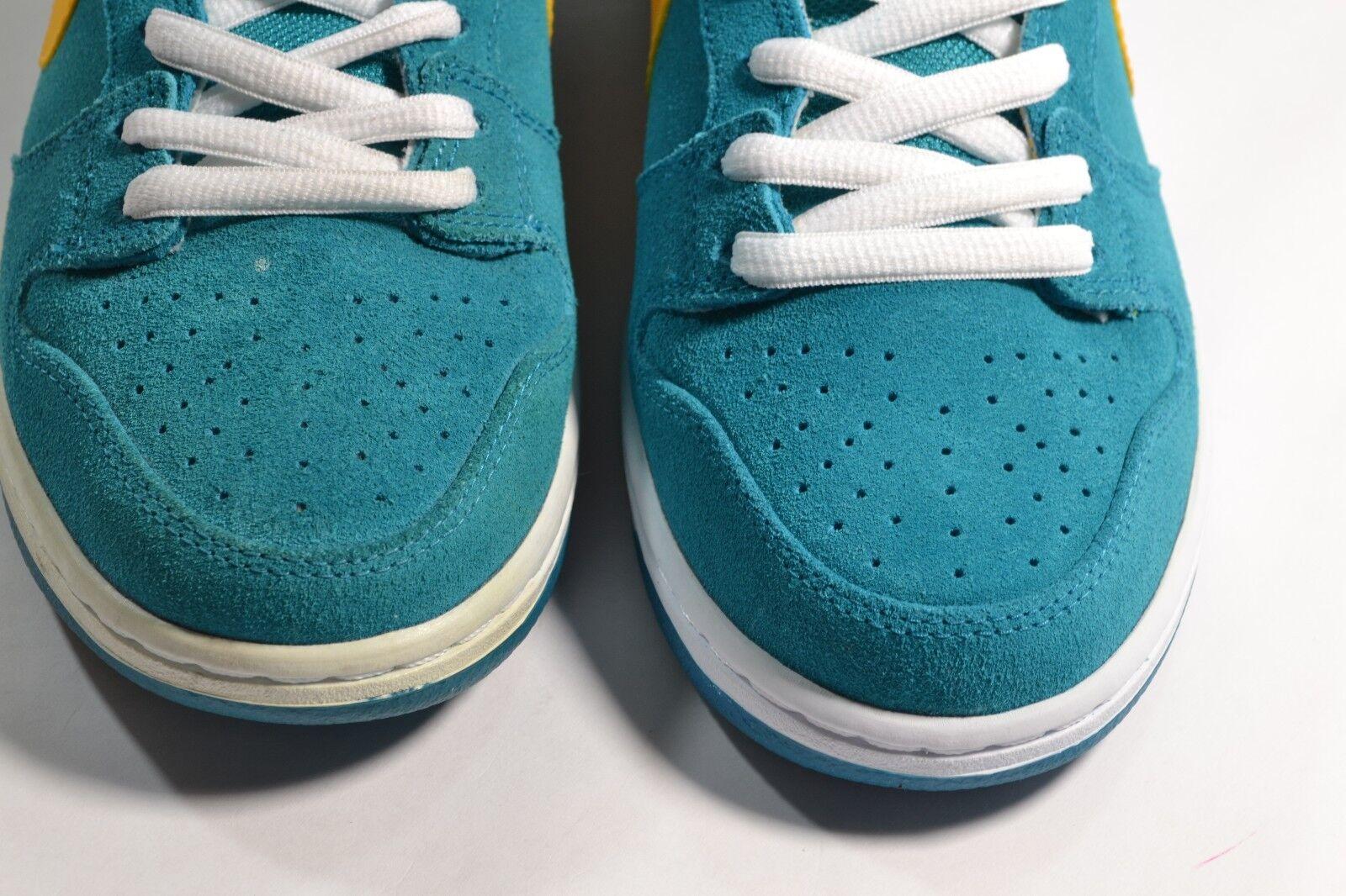 Nike dunk hohe pro - - - sb blaugrün universität gold Weiß