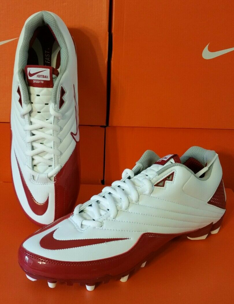 NEW MENS Nike Speed TD Football Cleats Red/White Soccer Lacrosse no box size 16 Brand discount