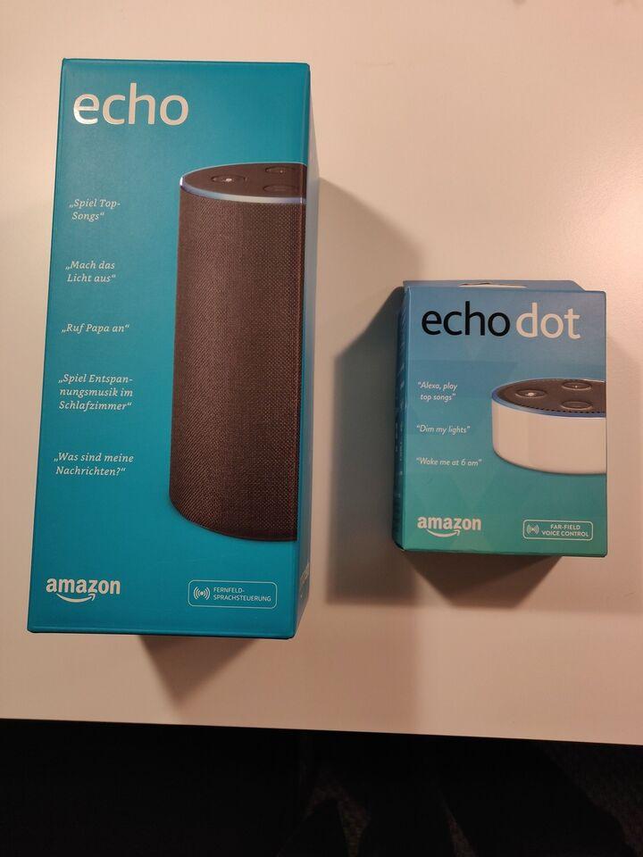 Højttaler, Echo, Amazon Alexa Echo