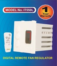 Remote control Digital fan regulator with 7 step humming free