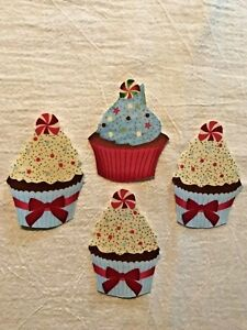 Christmas-Cupcake-With-Touch-of-Glitter-4-Iron-On-Fabric-Appliques