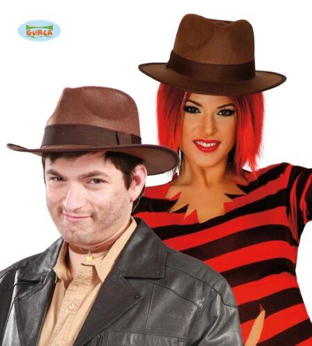 Cappello avventuriero per travestimento Freddy Krueger