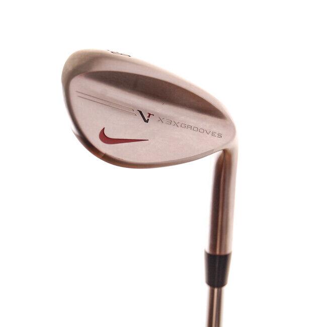 Nuevo Nike de rojoucción de vibración doble ancho Wedge 58  DG AMT rígido de la flexión de Acero RH