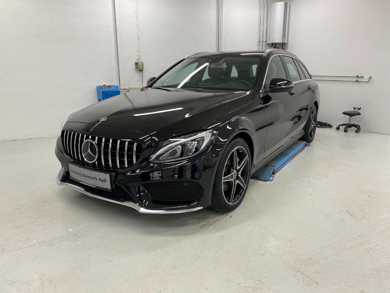 Mercedes C220 d 2,2 AMG Line stc. aut. 5d - 2.395 kr.