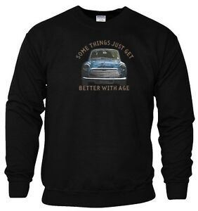 Mini-Cooper-Sweatshirt-Somethings-Get-Better-With-Age-Funny-Joke-Gift-Men-Top