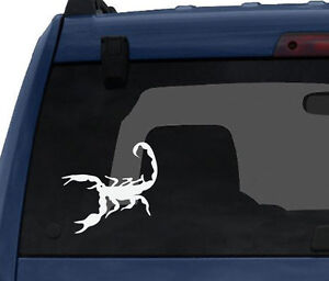 Insect-Arachnid-Scorpion-Venom-Sting-3-Scorpio-logo-Car-Tablet-Vinyl-Decal