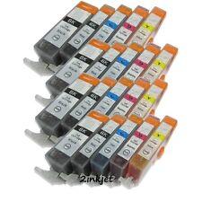 20 x Ink Cartridge for Canon CLI-221 PGI-220 PIXMA iP3600 iP4600 iP4700