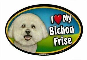 I LOVE MY POMERANIAN Dog Bone Magnet Car Truck Cabinet Refrigerator USA NEW