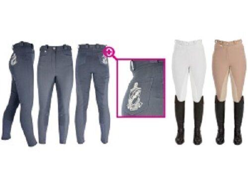 Hyperformance PRO Signore Pantaloni PER EQUITAZIONE IDROREPELLENTE E TRASPIRANTE