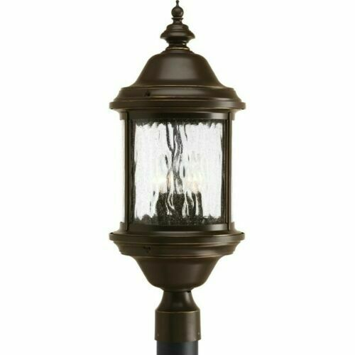 Progress Lighting P5450 20 Ashmore Outdoor Post Light Antique Bronze For Sale Online Ebay