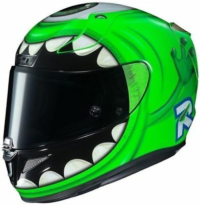 Helme Auto-motorsport ZuverläSsig Helm Hjc Rpha 11 Mikrofon Wazowski Disney Pixar Mc4 Größe L Moderate Kosten