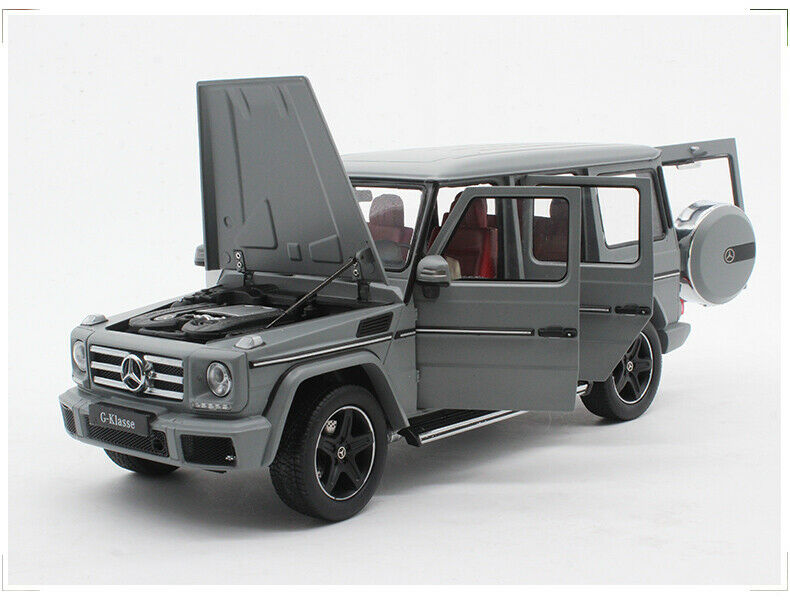 1/18 i-Scale Iscale Mercedes Benz MB G Klass G500 W463 SUV 4WD Matt Grey 2017