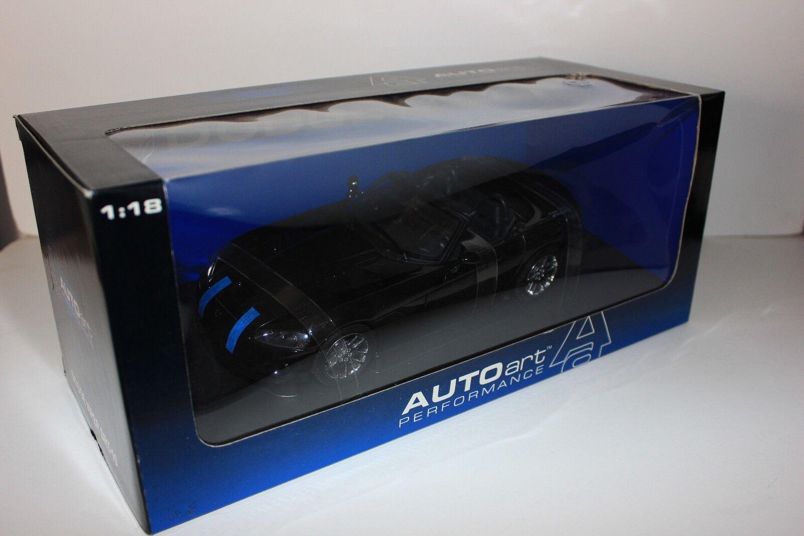Autoart 1 18 2003 Dodge Viper Especial respuesta Equipo nero como nuevo 71705