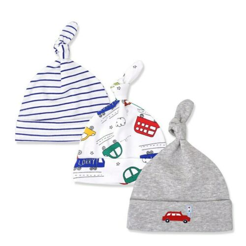 3pcs//lot Baby Hats Cotton Baby Caps for Newborn Boy Girl Soft Hat Newborn Props