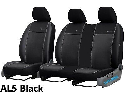 FORD MONDEO Mk3 2001-2007 FRONT TAILORED SEAT COVERS  ECO LEATHER /& ALICANTE