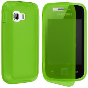 Case-IN-TPU-And-Flip-Cover-Green-for-Samsung-Galaxy-Y-S5360