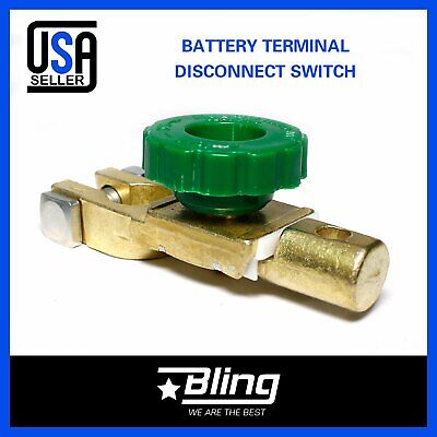 Auto Car Battery Link Terminal Quick Cut-off Disconnect Master Shut Switch Tool