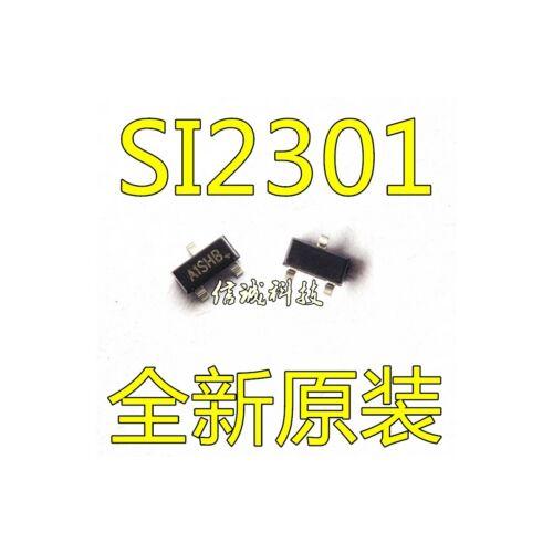 5PCS X SI2301 Mark A1SHB SOT-23 2.3A 20V