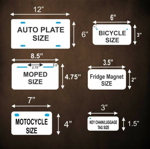Texas 1952 License Plate Personalized Custom Car Auto Bike Motorcycle Moped