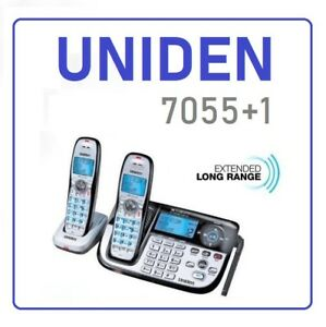 Uniden-XDECT-7055-1-Digital-Technology-Cordless-Phone-System
