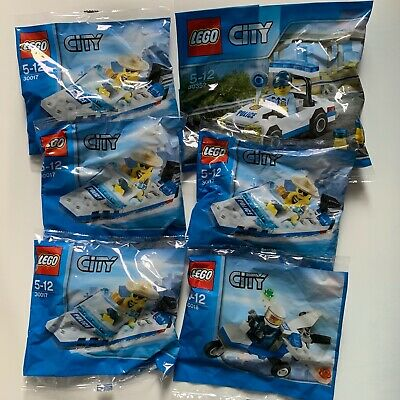 LEGO CITY Police Plane Polybag 30018 Brand New sealed