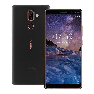 "NEW Nokia 7 Plus (TA-1062) 6.0"" 4GB / 64GB (GSM ONLY) Dual SIM UNLOCKED"