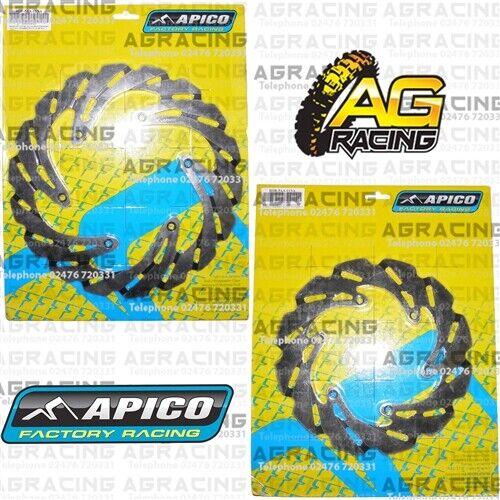 Apico Front Brake 260mm /& Rear Brake 220mm Disc Set For KTM EXC 250 TPI 2018