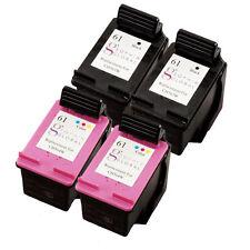 4 Pack Ink Cartridge for HP 61 Deskjet 1510 2540 2545 1010 1512 2510 3512 3510