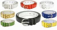 Ladies Leather  Belt / Girls Leather Belt/Women Leather Belt in various colours