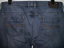 Diesel safado regular slim-straight fit jeans wash 0R08M W36 L32 (a2289)