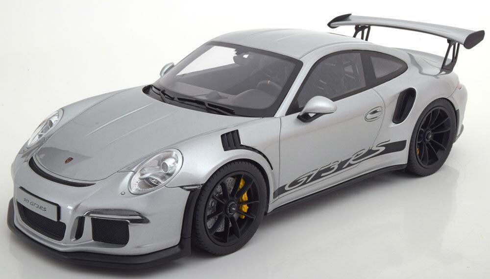 Fuxi double à acheter! 1:12 GT GT GT Spirit Porsche 911 (991ii) gt3 rs 2015 Argent /Noir  | Une Bonne Conservation De Chaleur  706a7c