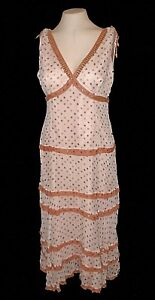 df0ff328e68d4 Image is loading New-Dress-ECI-New-York-100-Silk-tiered-