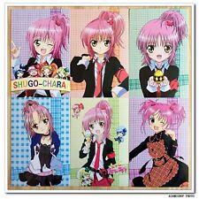 Shugo Chara Manga Anime Lot de 6 Cartes Postal II Amu Hinamori  しゅごキャラ!